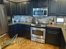 annie sloan kitchen cabinets oak cabinets finished in graphite chalk paint decorative paint by