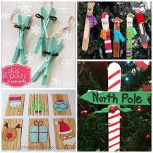 Wooden Christmas Decorations Bulk by Christmas Popsicle Stick Crafts For Kids To Make Crafty Morning