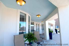 custom ohio haint blue paint color porch ceiling mediterranean
