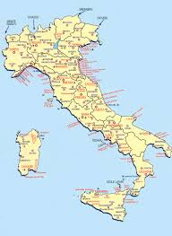 Italy Cities Map by Continent Holiday U0026 Travel