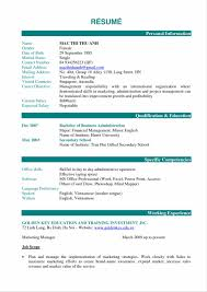 Best Resume Examples Pdf by Ndjbp Day Administrative Officer Resume Sample Pdf Create