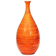 Vintage Orange Glass Vase Orange Glass Vases Uk Vintage Vaseline 28460 Gallery
