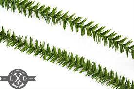 tinsel garland alpine green tinsel garland seasonal decorations united states