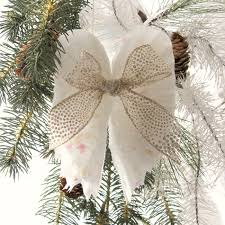 beautiful sparkling diy wings ornament white wings