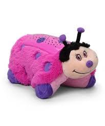 light up ladybug pillow pet dream lites ladybug plush night light zulily