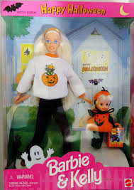 halloween barbie amazon com happy halloween barbie u0026 kelly gift set special