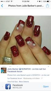 best 20 santa hat nails ideas on pinterest xmas nails xmas