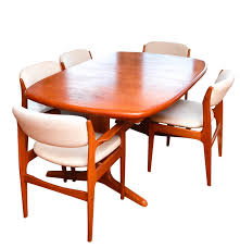 danish modern teak dining set by benny linden ebth