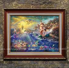 home interiors kinkade prints kinkade prints of painting the mermaid series