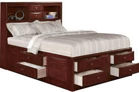 Best 25 Beds With Storage by Awesome Manhattan Platform Storage Bed Frame Java The Futon Shop