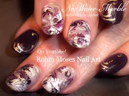robin moses nail art marble nails with no water needed