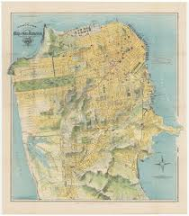 Map Of San Francisco by Spectacular Chevalier Map Of San Francisco For The 1915 Exposition