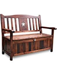 Outdoor Bench With Storage Outdoor Storage Benches Amazon Com