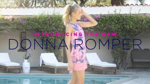 Lilly Starbucks Lilly Pulitzer Donna Romper Youtube
