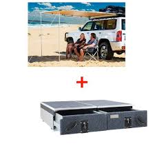 Rear Awning 900mm Titan Rear Drawers Suitable For Smaller Wagons Adventure