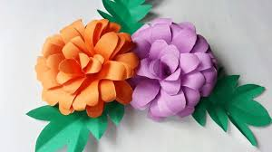 How To Make Mexican Paper Flowers - how to create pretty paper flowers diy crafts tutorial