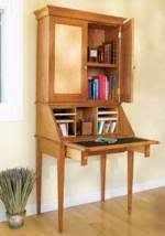 Drop Front Secretary Desk by Drop Front Desk Plans Woodworking Plans And Information At