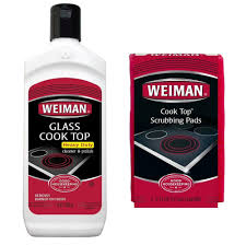 amazon com cooktop cleaning kit weiman glass cook top cleaner