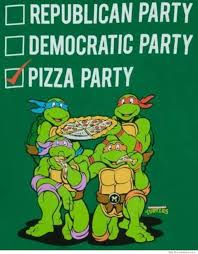 Ninja Turtles Meme - pizza party weknowmemes