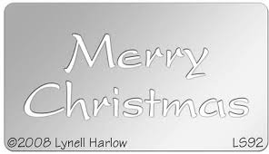 stendous small merry stencil dwls92 123stitch