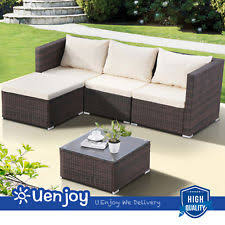 wicker outdoor sofa vidaxl patio outdoor black furniture rattan u0026 wicker lounge set