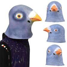 crow mask halloween online buy wholesale pigeon mask from china pigeon mask