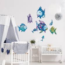 wall stickers the original on your deco shop co uk product picture wall decal the rainbow fish underwater