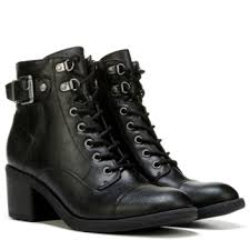 guess boots womens g by guess lassey lace up boot black