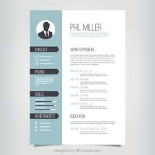 Graphic Design Resume Template Resume Vectors Photos And Psd Files Free