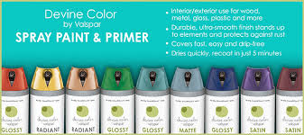 devine color by valspar spray paint devine color