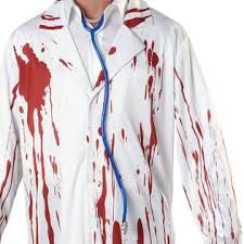 Bloody Doctor Halloween Costume Totally Ghoul Bloody Surgeon Halloween Costume Size Size Fits