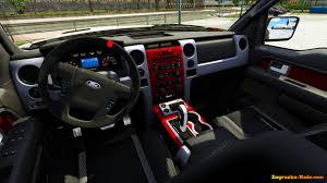 Ford Raptor Interior - ford f150 raptor svt interior v2 0 for ets 2 zagruzka mods com