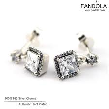 earrings brand elegance stud earrings with cz timeless elegance original 925