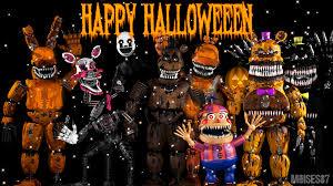 happy halloween fnaf poster 2 by moises87 on deviantart