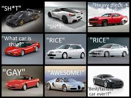 Car Guy Meme - things that fake car guys say