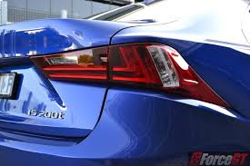 lexus is tail lights lexus is review 2016 lexus is 200t