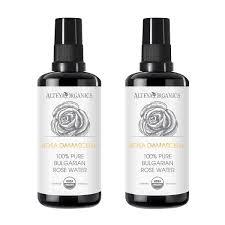 alteya usda organic 100 pure bulgarian rose water spray 200ml 2pack