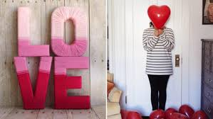 love decorations for the home valentine s day decoration diys for the home