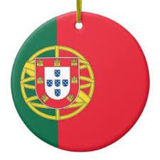 portuguese flag ornaments keepsake ornaments zazzle