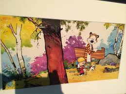 bill watterson locust moon comics calvin and hobbes was the piece of art more than any other that kindled the undying love of comics and cartooning in my young heart