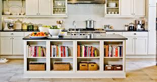 Kitchen Island With Bookshelf Easy Ikea Hacks For Your Kitchen Thrillist
