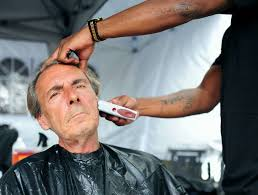 years after he was homeless barber gives back to saratoga times