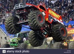 monster truck show in michigan jan 16 2010 detroit michigan u s 16 january 2010