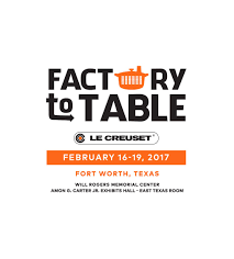 le creuset factory to table le creuset factory to table sale will rogers memorial center