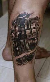 leg biomechanical tattoo design design of tattoosdesign of tattoos
