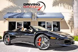 used 458 spider 2014 458 spider stock 5626 for sale near lake park fl