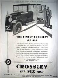 crossley motors automobiles manchester england uk 1906 1958
