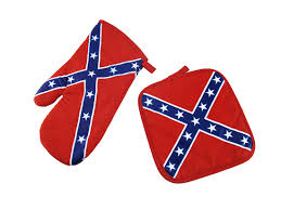 Confederate Flag Bed Sheets Confederate Flag Apron Mitt Pot Holder Bbq Set Zeckos