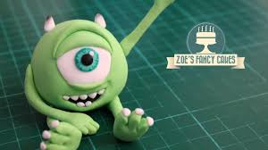 monsters mike wazowski cake topper