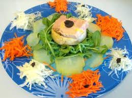comment cuisiner des chayottes foie gras en salade chayotte et truffe recette entrées froides